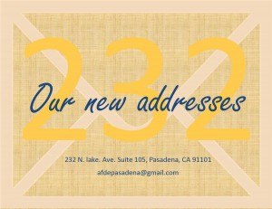 our new address