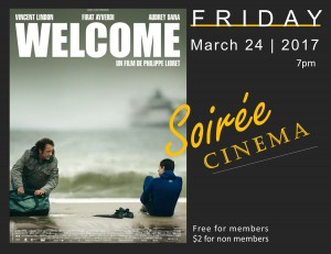 Welcome soiree cinema